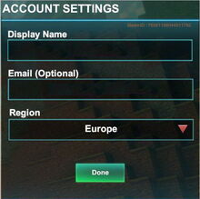 Creativerse R41 account settings001