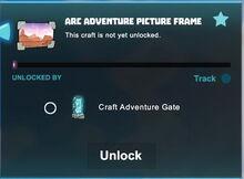Creativerse R40 arc adventure picture frame unlock001