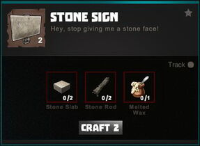 Creativerse crafting recipes R34 Furniture Windows Signs 0245