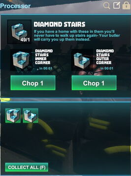 Creativerse R41,5 processing corners for stairs 531