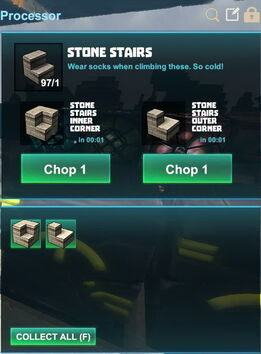 Creativerse R41,5 processing corners for stairs 524