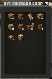 Creativerse kit for blueprints1338