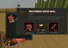 Creativerse Weathered Wood Wall Dustevil loot001