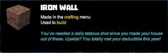Creativerse tooltips R40 023 metal blocks crafted