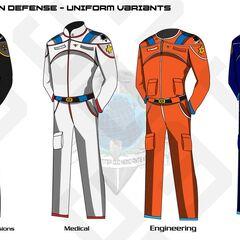 Uniform variants