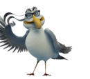 Socrates Seagull (Creative Thoughts)