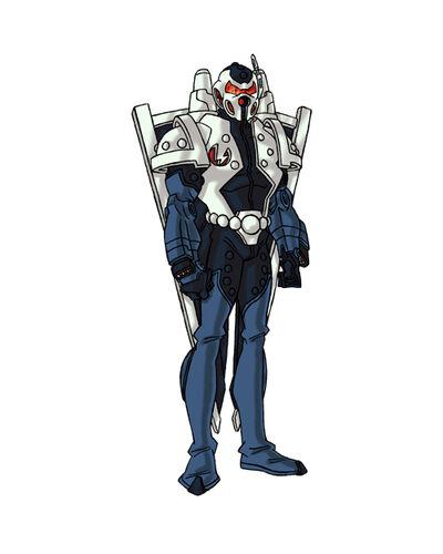 Tristan's Hi-tech Exoskeleton