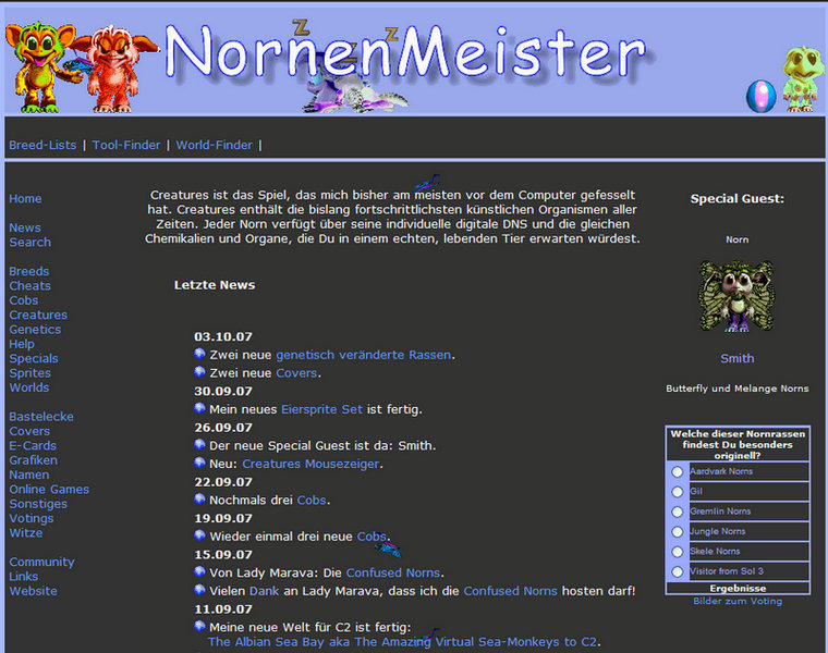 Nornenmeister-history