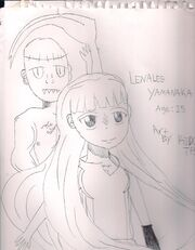 Lenalee drawing 001