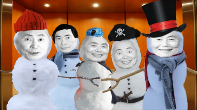 File:Nc snowmen of george takei by thecommandersamir-d6shb4m.png