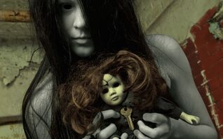 Creepy ghost girl-1920x1200