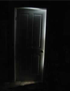 Creepy Door by macgyvering my way