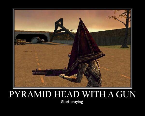 File:Pyramid Head With A Gun by Yohan Gas Mask.jpg