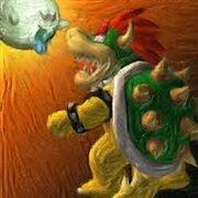 Bowser and King Boo