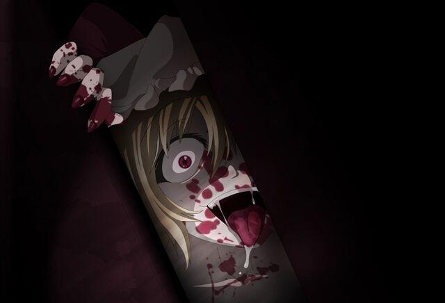 File:Nyanbooru.com - 118 - blood creepy flandre scarlet touhou vampire yandere.jpg