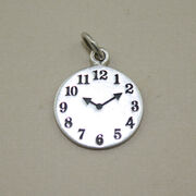 Charm-clock-sterling