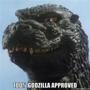 100 Percent Godzilla Approved