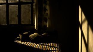 Creepy bedroom
