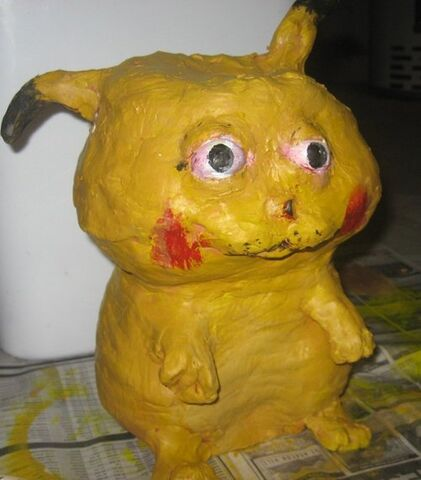 File:Papier-mache-pikachu.jpg