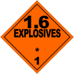 HAZMAT Class 1-6 Explosives