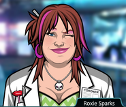 Roxie Sparks Winking