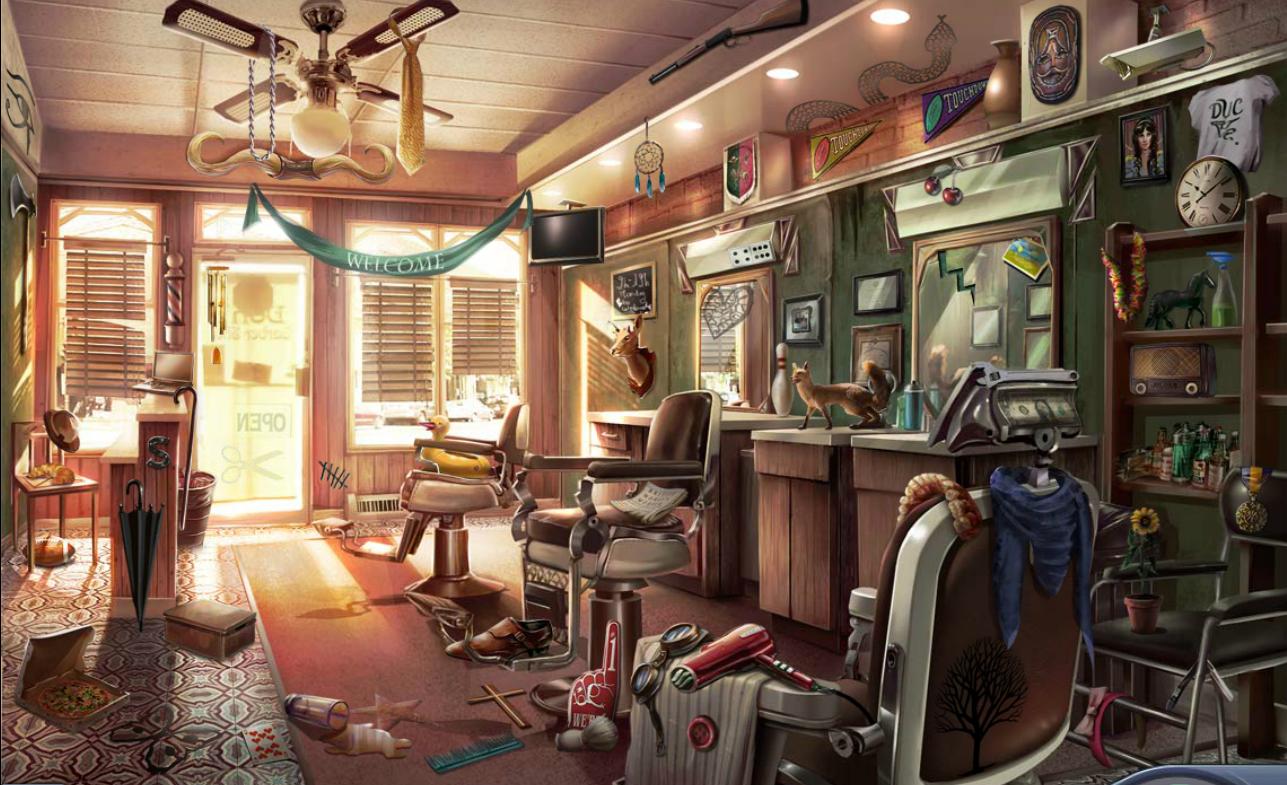 creepy basement criminal case.  Image Barbershop png Criminal Case Wiki FANDOM powered by Wikia
