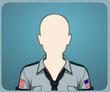 Tie Grey Police Shirt