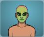 Case 101 Reward 1 - Alien Makeup