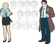 Throwback Thursday - Frank and Amy Early Drafts