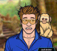 Jack and a monkey.