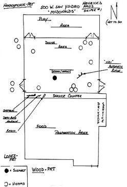 Huberty victim map