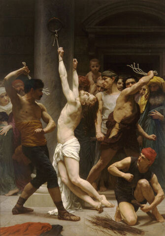 Arquivo:William-Adolphe Bouguereau (1825-1905) - The Flagellation of Our Lord Jesus Christ (1880).jpg