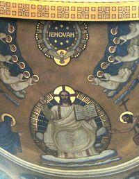 JEHOVAH at RomanCatholic Church Martinskirche Olten Switzerland Detail.JPG