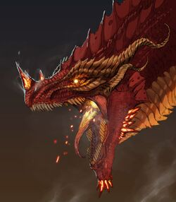 """Image of Thordak, the Cinder King.""}}"