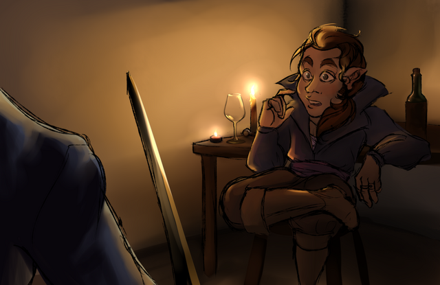 File:Episode-38-Kaylie-Draws-Sword-on-Scanlan-by-advocatingAvian.png