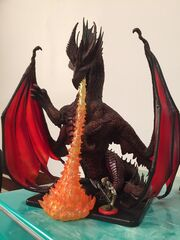 Thordak-Miniature-with-Grog-for-Scale-by-Matthew-Mercer