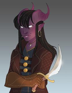 """Image of Huntmaster Vanessa Cyndrial.""}}"