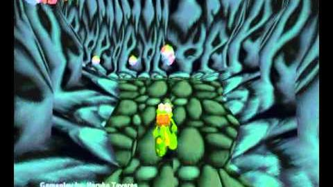Croc Legend of the Gobbos (PC) - Island 1 Secret 2 (The Twisty Tunnels)