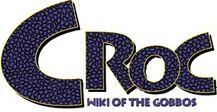 Croc Wiki Of The Gobbos wordmark