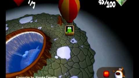 Croc 2 (PC) - Cossack Village - Flavio the Thermal Fish