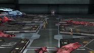 Cross Ange 11 Corpses of Scuna-Class DRAGONs in Landing Platforms