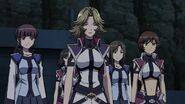 Cross Ange ep 12 Jasmine and the Normas