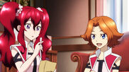Cross Ange ep 21 Young Hilda and Young Rosalie