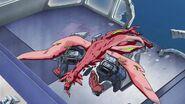 Cross Ange ep 11 Dragon shot dead