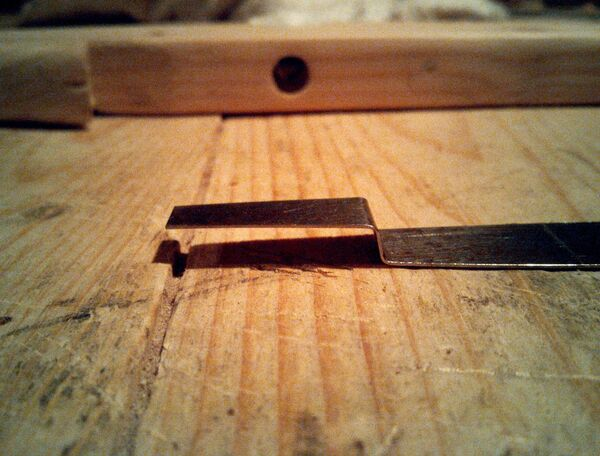 Making bolt-holders for pin-trigger crossbows - 04