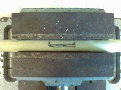 Metal fletching method 2-04