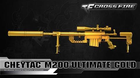 CrossFire Vietnam Cheytac M200-Ultimate Gold ☆