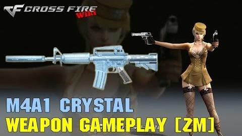 CrossFire - M4A1 Crystal - Weapon Gameplay ZM