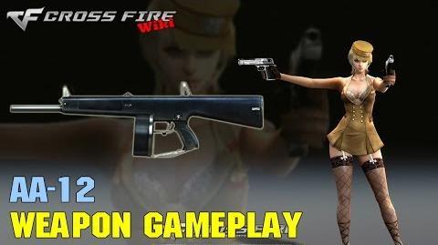CrossFire - AA-12 - Weapon Gameplay