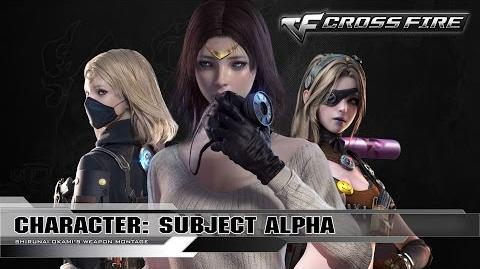 CrossFire Character - Subject Alpha (VVIP) ☆